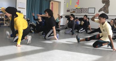 HMTCA-Trinity Hip Hop Collaboration with Internationally Renowned Choreographer Amirah Sackett
